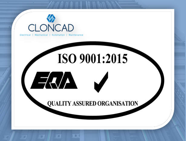 ISO 9001:2015 Quality Management certification achieved